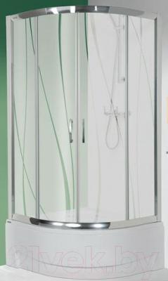 Душевой уголок Sanplast KP4/TX5-90-S (тонированное стекло)