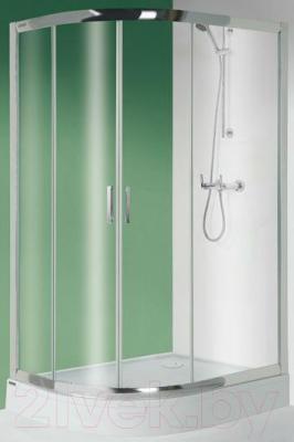 Душевой уголок Sanplast KPL-P-KP4/TX5-90x120-S W0 (матовое стекло с рисунком)
