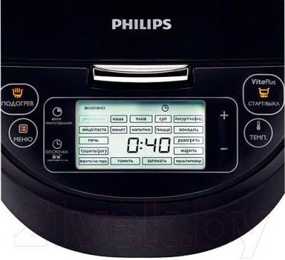 Мультиварка Philips HD3197/03 - панель управления