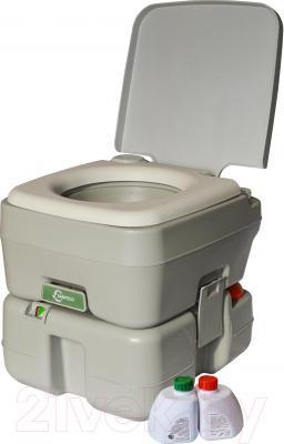 Портативный биотуалет Saniteco CHH-2315 - жидкости в подарок