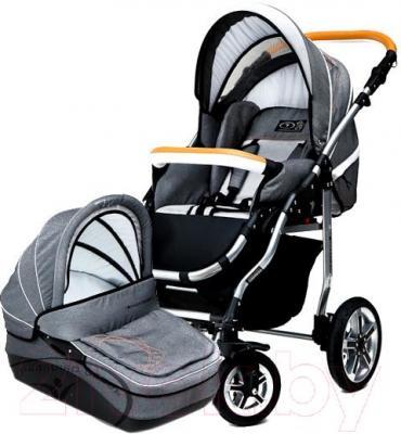 Детская универсальная коляска Dada Paradiso Group Dada Denim 2в1 - общий вид