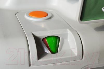 Портативный биотуалет Saniteco CHH-2320 - индикатор заполнения и клапан для слива отходов