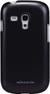 Накладной чехол Nillkin Multi-Color (черный, для Galaxy S3 mini/I8190) - общий вид