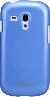 Накладной чехол Nillkin Multi-Color (синий, для Galaxy S3 mini/I8190) - общий вид