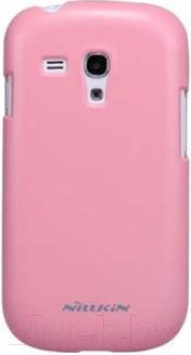 Накладной чехол Nillkin Multi-Color (розовый, для Galaxy S3mini/I8190) - общий вид