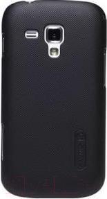 Чехол для телефона Nillkin Rainbow Type (черный, для Galaxy S Duos/S7562) - общий вид