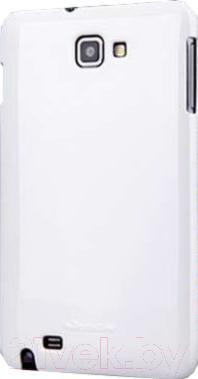 Накладной чехол Nillkin Shining (белый, для Galaxy Note/N7000) - общий вид