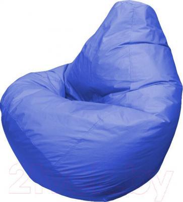 Бескаркасное кресло Flagman Груша Макси Г2.1-03 (синий) - общий вид
