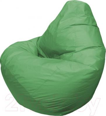 Бескаркасное кресло Flagman Груша Макси Г2.1-04 (зеленый) - общий вид