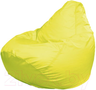 Бескаркасное кресло Flagman Груша Макси Г2.1-07 (желтый)
