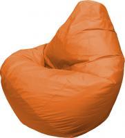 Бескаркасное кресло Flagman Груша Макси Г2.1-10 (оранжевый) -