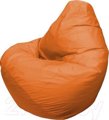 Бескаркасное кресло Flagman Груша Макси Г2.1-10 (оранжевый) - общий вид