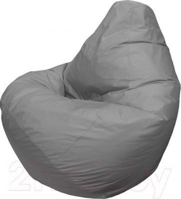 Бескаркасное кресло Flagman Груша Макси Г2.1-12 (светло-серый) - общий вид