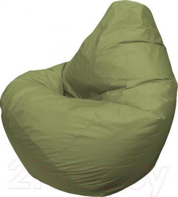 Бескаркасное кресло Flagman Груша Макси Г2.2-03 (оливковый) - общий вид