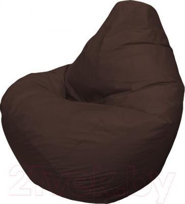 Бескаркасное кресло Flagman Груша Макси Г2.2-05 (шоколад) - общий вид