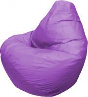 Бескаркасное кресло Flagman Груша Макси Г2.2-12 (фиолетовый) -