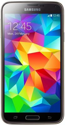 Смартфон Samsung Galaxy S5 / G900F (золотой)