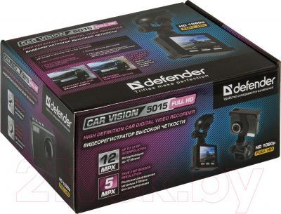 Автомобильный видеорегистратор Defender Car Vision 5015 FullHD / 63404 - упаковка