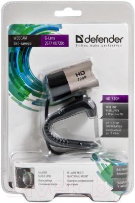 Веб-камера Defender G-Lens 2577 HD720p / 63177 - упаковка