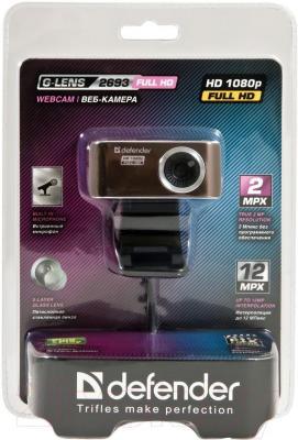 Веб-камера Defender G-lens 2693 / 63693 - упаковка