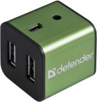 Разветвитель USB Defender Quadro Iron / 83506 -