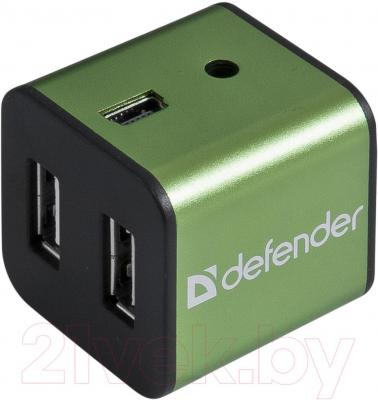 Разветвитель USB Defender Quadro Iron / 83506 - общий вид