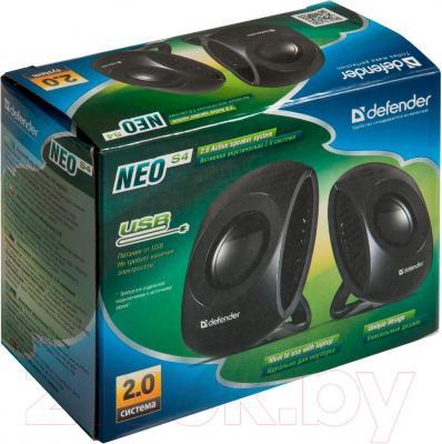 Мультимедиа акустика Defender Neo S4 / 65660 - в упаковке
