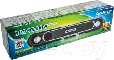 Мультимедиа акустика Defender NoteSpeaker-S5 USB / 65549 - в упаковке