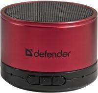 Портативная колонка Defender Wild Beat / 65556 (красный) -