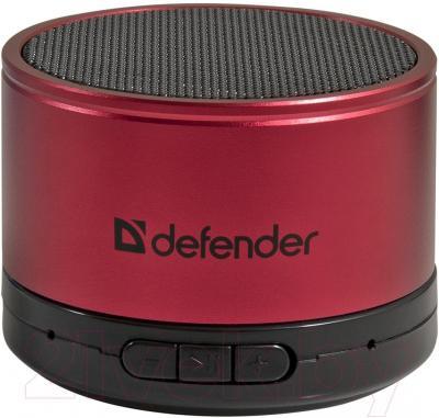 Портативная колонка Defender Wild Beat / 65556 (красный) - общий вид