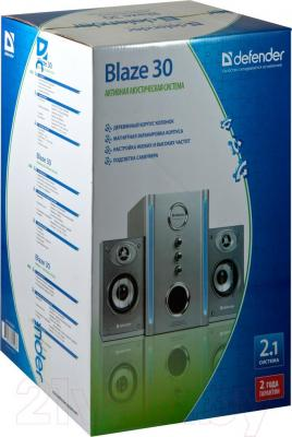 Мультимедиа акустика Defender Blaze 30 / 65026 - в упаковке