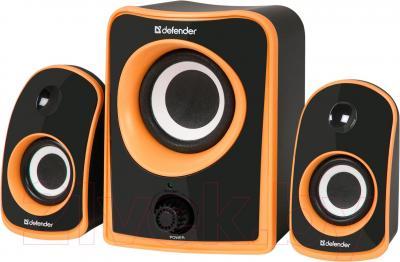 Мультимедиа акустика Defender JamSation S10 / 65614 (черно-оранжевый) - общий вид