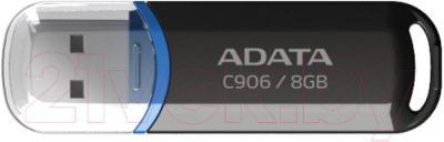 Usb flash накопитель A-data C906 (8 GB, черный) - общий вид