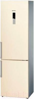 Холодильник с морозильником Bosch KGE39AK22R - общий вид