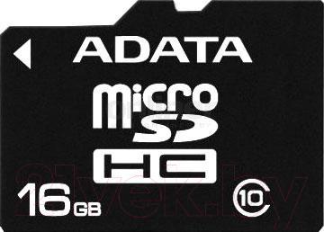 Карта памяти A-data microSDHC (Class 10) 16GB (AUSDH16GCL10-R) - общий вид