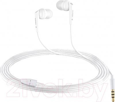 Наушники Cresyn C260E (белый) - общий вид