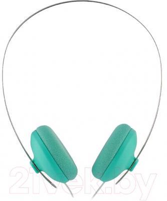 Наушники Cresyn C300H Pastel (зеленый) - вид сбоку