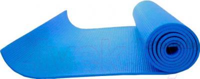 Коврик для йоги NoBrand YM-5 (синий) - общий вид