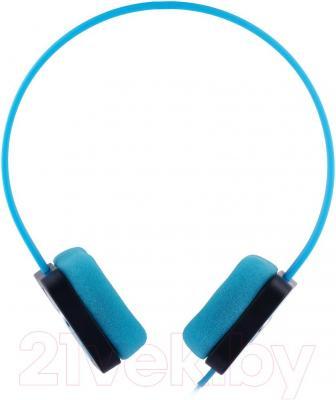 Наушники Cresyn C515H Disc (синий) - вид сбоку