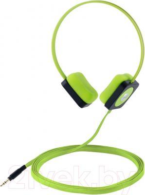 Наушники Cresyn C515H Disc (зеленый) - общий вид