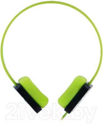 Наушники Cresyn C515H Disc (зеленый) - вид сбоку