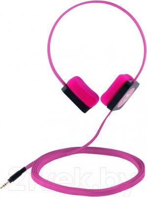 Наушники Cresyn C515H Disc (розовый) - общий вид