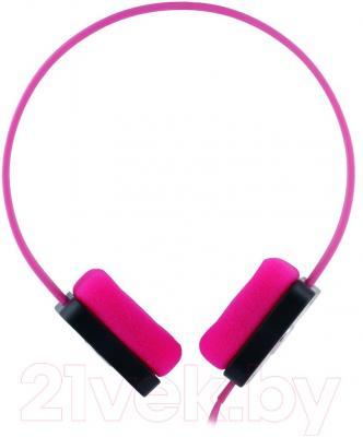 Наушники Cresyn C515H Disc (розовый) - вид сбоку