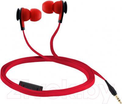 Наушники Cresyn C520E (красный) - общий вид