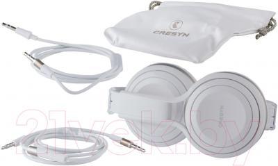 Наушники-гарнитура Cresyn C590H (черный) - комплектация