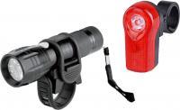 Фонарь для велосипеда + стоп-фонарь NoBrand JY829-2/JY173А -
