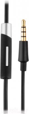 Наушники-гарнитура Cresyn C750H (черный) - микрофон и штекер