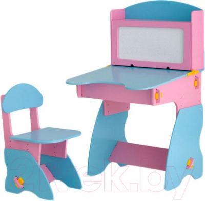 Стол+стул Столики Детям РГ-1 (розово-голубой) - общий вид
