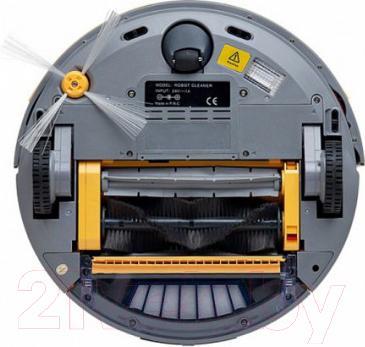 Робот-пылесос Kitfort KT-501 (желтый) - вид сзади