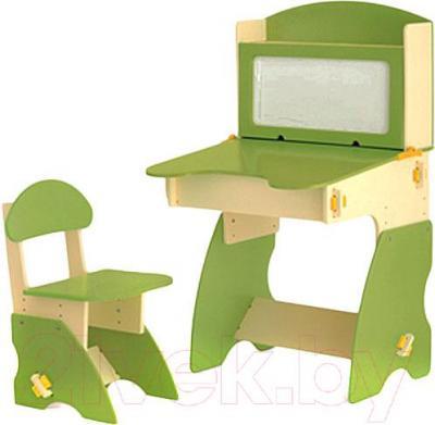 Стол+стул Столики Детям БC-1 (бежево-салатовый) - общий вид